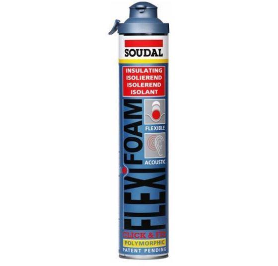 Soudal Flexifoam 750ml Click&Fix