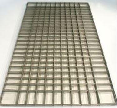 Metalen chapenet 2 x 1m