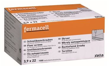 Fermacell snelbouwschroeven 3,9x22 mm