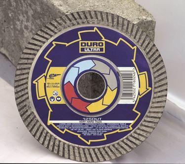 DURO Diamantzaag Porselein en volkeramische tegels