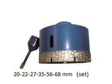 DURO Diamanttegelboor M14 - SET