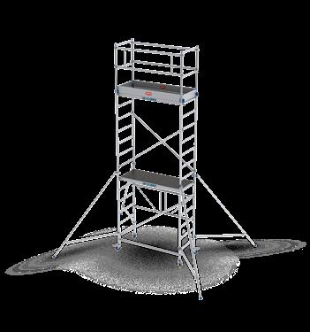 Afbeelding van Vouw-/Rolsteiger RS TOWER 34 module A+B+C (5,8m)