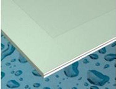 waterwerende gipsplaat 2500x1200x12,5mm 4AK