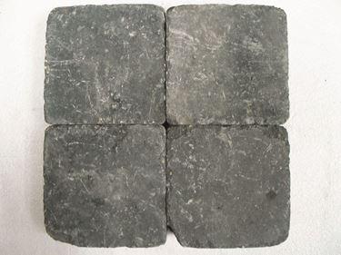 getrommelde grijs zwart 20x30x6cm