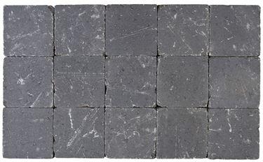 Afbeelding van Getrommelde Bouwpuntklinker muisgrijs 15x15x6cm