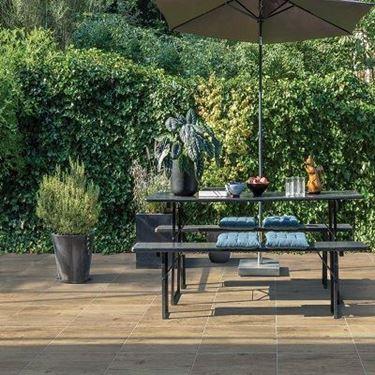 Bouwpunt concrete wood grey 60x60x3cm