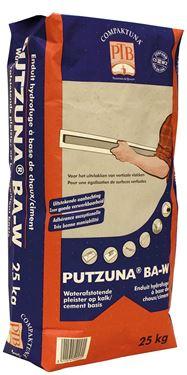 Afbeelding van Putzuna BA-W 25kg